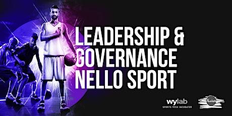 Leadership & Governance nello sport tickets