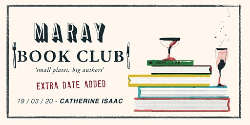 Maray Book Club Presents: Catherine Isaac / DATE 2