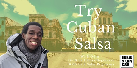 Come and try Cuban Salsa Tickets
