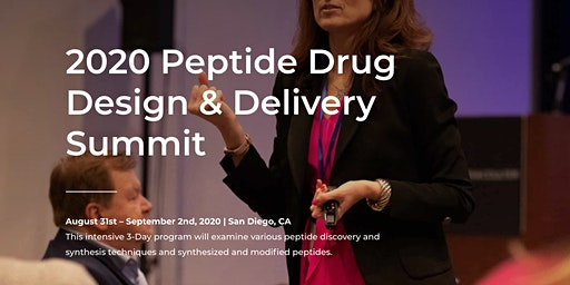 2020 Peptide Drug Design & Delivery Summit