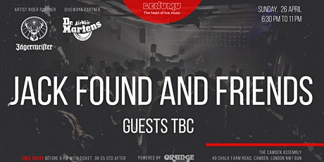 Benumu Sunday Session ft Jack Found and Friends tickets