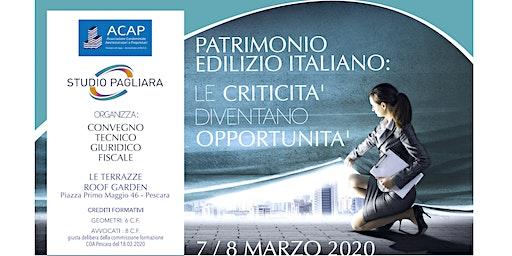 Patrimonio edilizio italiano: le criticità diventano opportunità