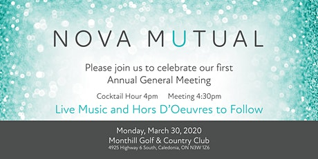 Nova Mutual's First Annual General Meeting and Celebration tickets