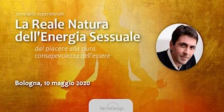 La reale natura dell'Energia Sessuale con Daniel Lumera - Unica data 2020 biglietti