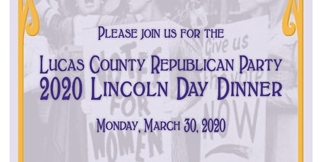 LCRP 2020 Lincoln Day Dinner tickets