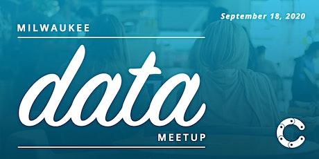 September Milwaukee Data Meetup tickets