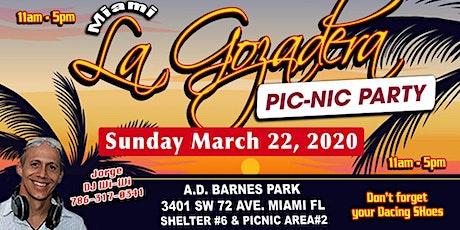 La Gozadera Miami Pic-Nic Party tickets