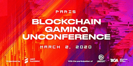 Blockchain Gaming Unconference billets