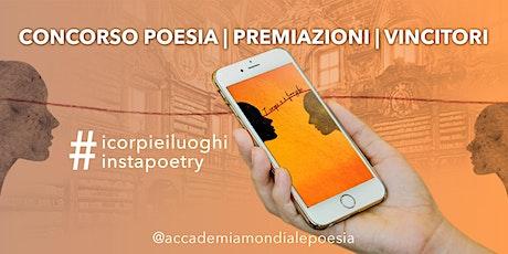 """Premiazioni del concorso di poesia  """" I corpi e i luoghi"""" - Premio Catullo biglietti"""