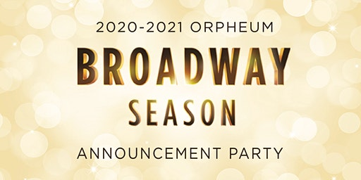 2020-2021 Broadway Season Reveal