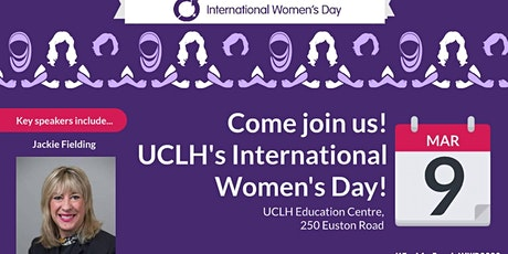 UCLH International Women's Day - Jackie Fielding tickets