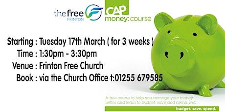 CAP Money Course tickets