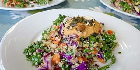 Healthy Fast Food - Cookery Workshop and Lunch tickets