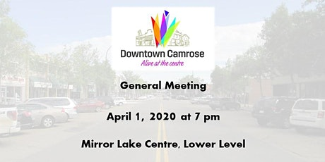 Downtown Camrose General Meeting tickets