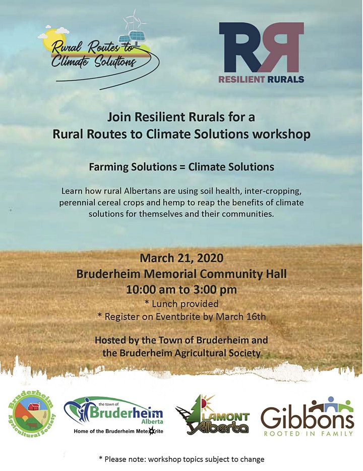 Rural Routes to Climate Solutions Workshop image