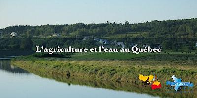 L'agriculture et l'eau au Québec