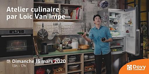 Atelier culinaire par Loïc Van Impe