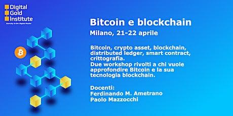 Bitcoin e blockchain tickets