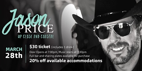 Up Close & Coastal Concert - Jason Price tickets