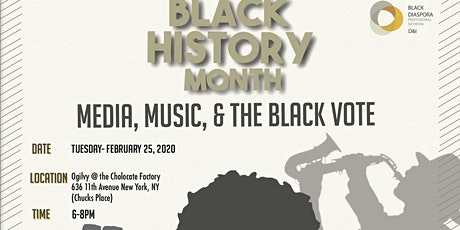 Media, Music and the Black Vote Panel tickets