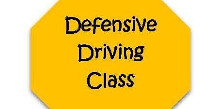 Defensive Driving Class- Point Reduction Class