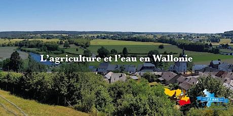 L'agriculture et l'eau en Wallonie billets