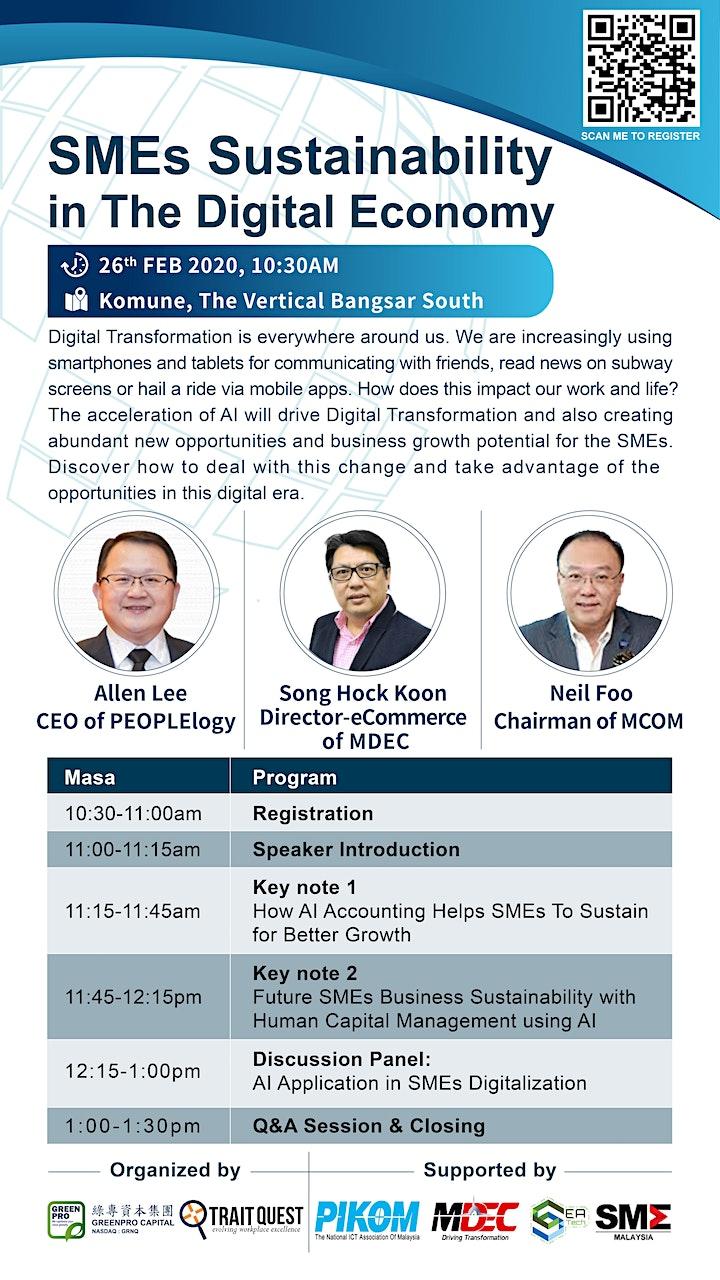 SMEs Sustainability in The Digital Economy image