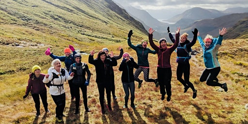 Girls on Hills; a celebration of women in the UK mountains