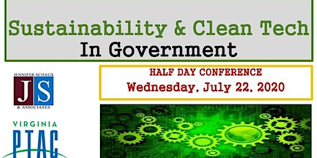 Sustainability & Clean Tech In Government tickets