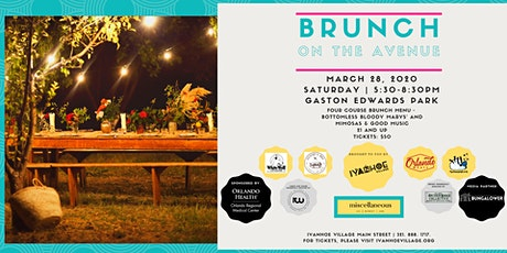 Brunch on the Avenue tickets