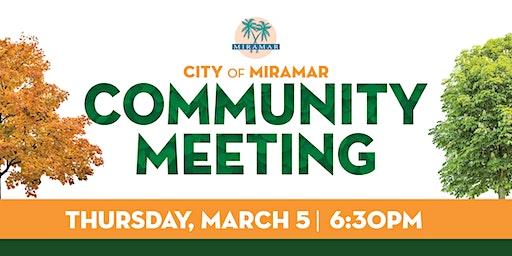 Community Meeting -  Landscape Code Update
