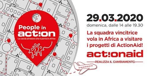 People in Action | La Caccia al Tesoro di ActionAid che ti porta in Africa