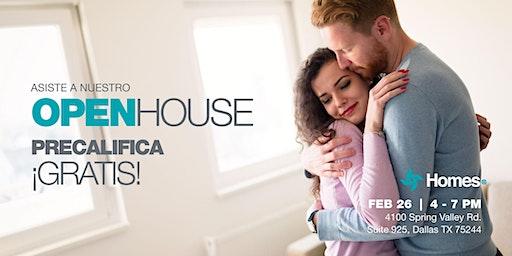 OPEN HOUSE #YAESTOYLISTO:  Pre-califica Para Tu Casa - todos los miércoles