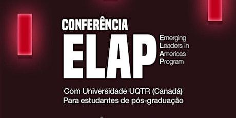 Conferência ELAP com UQTR ingressos