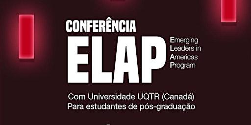 Conferência ELAP com UQTR