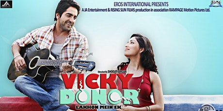 "Bollywood Film Screening of ""Vicky Donor"" With 3-Course Lunch At India Club tickets"