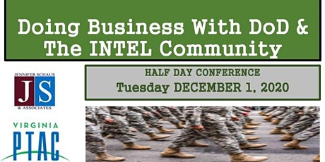 The 5th Annual Doing Business With DoD  & The Intel Community tickets