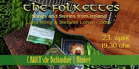 Literatur und Musik von der grünen Insel zum Welttag des Buches Tickets