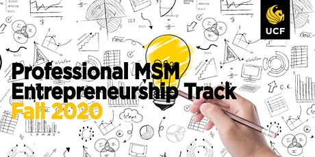 Professional MSM Entrepreneurship Info Session 3/19/2020 tickets