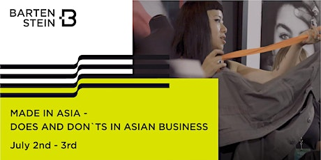 Made in Asia, Does and Don'ts in Asian Business with Norbert Grobe Tickets