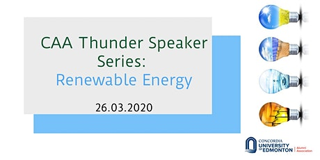 CAA Thunder Speaker Series: Renewable Energy tickets