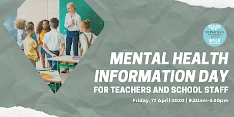 Mental Health Information Day for Teachers and School Staff tickets