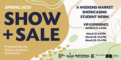 First Night Fundraiser: AUArts Students' Association Spring 2020 Show & Sale