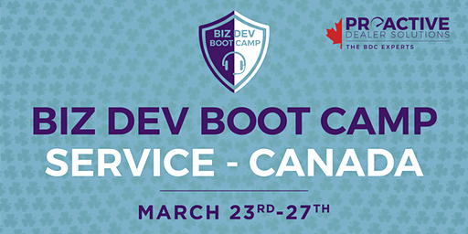 March - Canadian Biz Dev Boot Camp Service