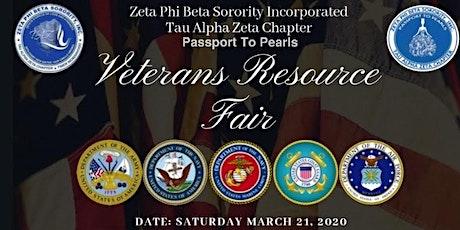 Veterans Resource Fair tickets