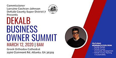 DeKalb County Business Owner Summit tickets