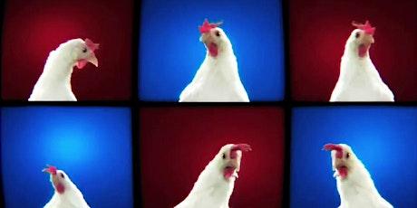 """Paaslunch + Voorstelling """"Ode aan de kip: Kippenquiz"""" tickets"""