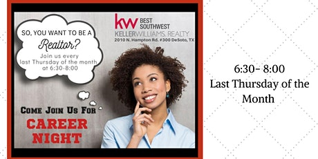 Keller Williams Best Southwest Career Night tickets