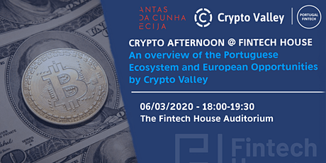 Cypto-Afternoon at The Fintech House with Kevin Lally bilhetes