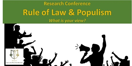 Rule of Law Conference tickets
